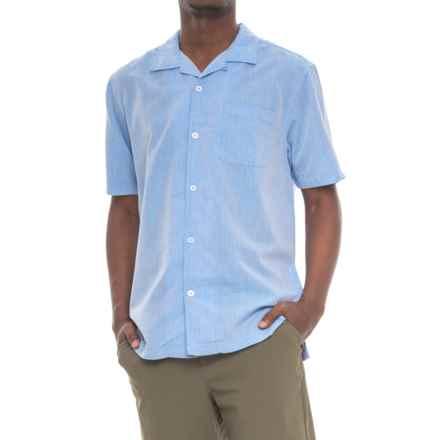 True Grit Las Brisas Shirt - Short Sleeve (For Men) in Blue - Closeouts