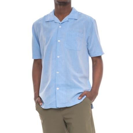 True Grit Las Brisas Shirt - Short Sleeve (For Men) in Blue