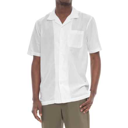 True Grit Las Brisas Shirt - Short Sleeve (For Men) in White - Closeouts