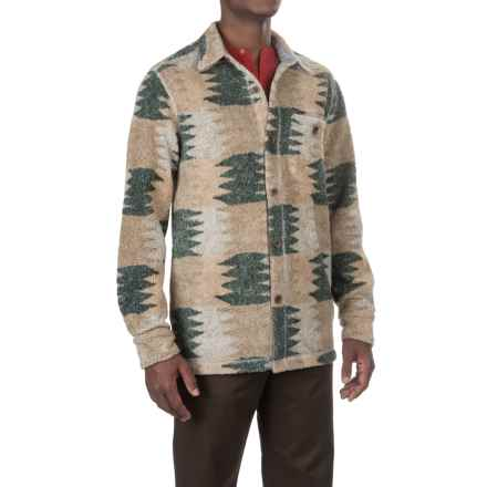 True Grit Melange Blanket Shirt - Long Sleeve (For Men) in Multi Zig Zag - Closeouts