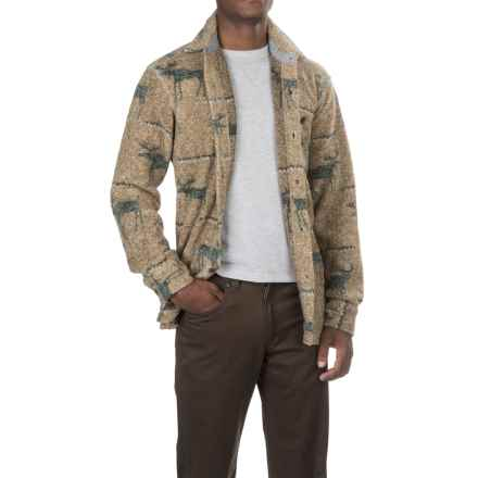 True Grit Melange Blanket Shirt - Long Sleeve (For Men) in Yellow Moose - Closeouts