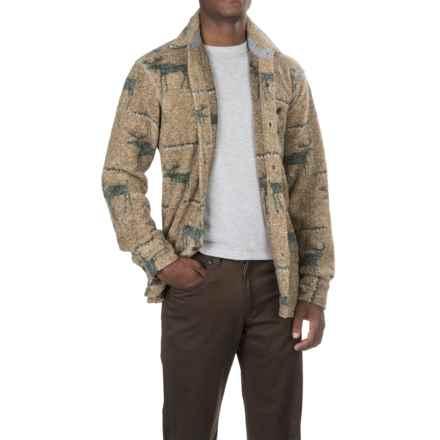 True Grit Melange Blanket Shirt - Long Sleeve (For Men) in Yellow - Closeouts