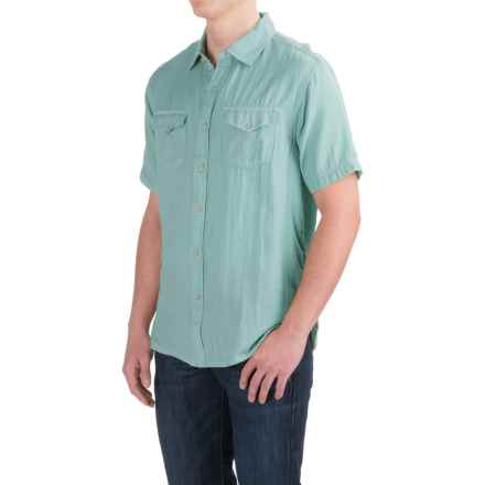 True Grit Mojito Shirt - Short Sleeve (For Men) in Sky - Closeouts