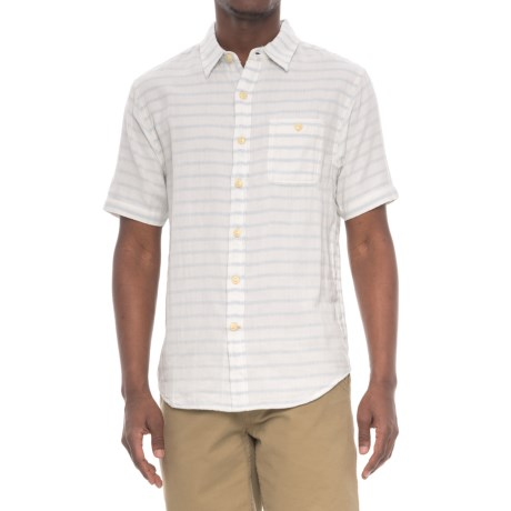 True Grit Newport Shirt - Short Sleeve (For Men) in White