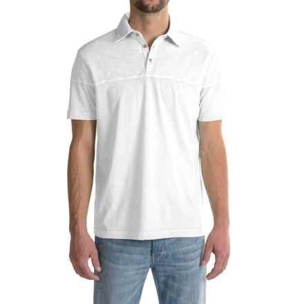 True Grit Palladium Polo Shirt - Short Sleeve (For Men) in White - Closeouts