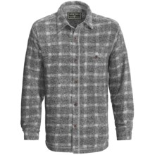 True Grit Peaks Plaid Big Shirt - Long Sleeve (For Men) in Charcoal - Closeouts