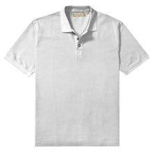 True Grit Polo Shirt - Cotton Jersey Pique, Short Sleeve (For Men) in White - Closeouts