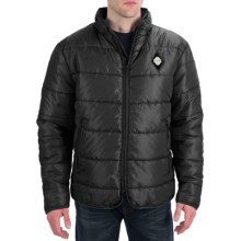 True Grit Puffer Jacket (For Men) in Black - Closeouts