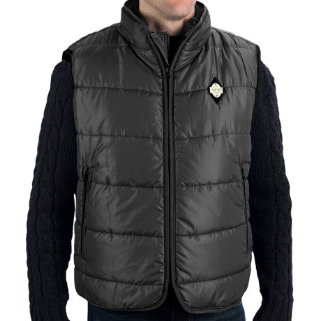 True Grit Puffer Vest (For Men) in Blue