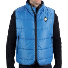 True Grit Puffer Vest (For Men) in Blue - Closeouts