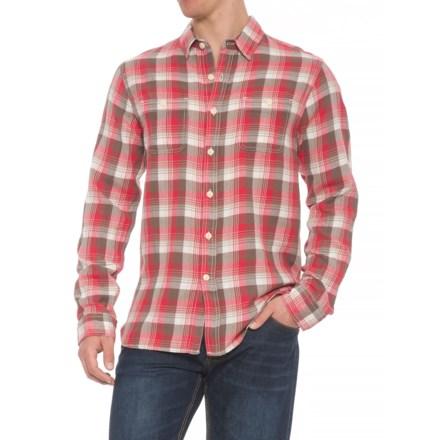 e8c2a038e True Grit Road House Checks Shirt - Long Sleeve (For Men) in Red -