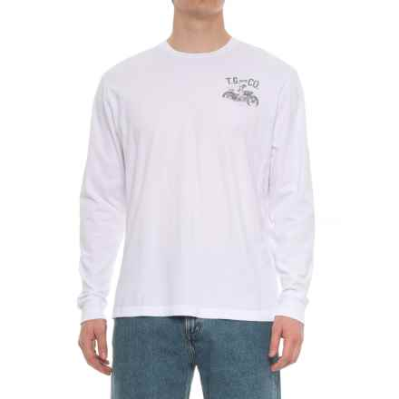 True Grit Road Warrior Vintage Graphic T-Shirt - Long Sleeve (For Men) in Optic White - Overstock