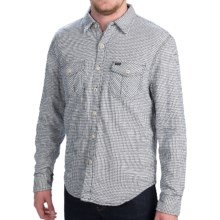 True Grit Roadhouse Checks Shirt - Fully Lined, Long Sleeve (For Men) in Vintage White - Closeouts