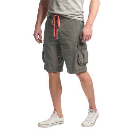 True Grit Rock Point Cargo Shorts (For Men) in Vintage Black - Closeouts