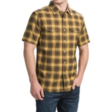 True Grit Rock Point Plaid Shirt - Short Sleeve (For Men) in Marge - Closeouts