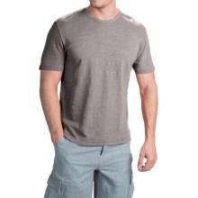 True Grit Royal Slub Shirt - Crew Neck, Short Sleeve (For Men) in Vintage Grey - Closeouts