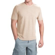 True Grit Royal Slub Shirt - Crew Neck, Short Sleeve (For Men) in Vintage Natural - Closeouts