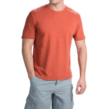 True Grit Royal Slub Shirt - Crew Neck, Short Sleeve (For Men) in Washed Red - Closeouts