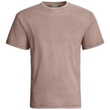 True Grit Secret Wash Crew T-Shirt - Short Sleeve (For Men) in Pebble - Closeouts