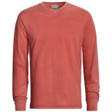 True Grit Secret Wash Shirt - Long Sleeve (For Men) in Faded Red - Closeouts