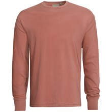 True Grit Secret Wash T-Shirt - Crew Neck, Long Sleeve (For Men) in Clay Red - Closeouts