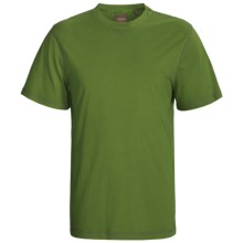 True Grit Sleep Shirt - Cotton, Short Sleeve (For Men) in Green - Closeouts