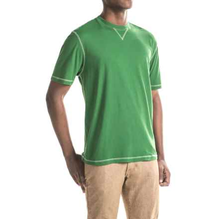 True Grit Sleep T-Shirt - Short Sleeve (For Men) in Green - Closeouts