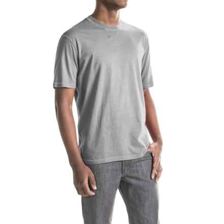 True Grit Sleep T-Shirt - Short Sleeve (For Men) in Light Heather Grey - Closeouts