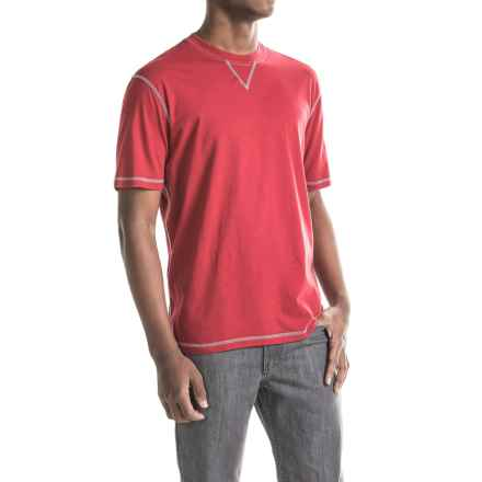 True Grit Sleep T-Shirt - Short Sleeve (For Men) in Red - Closeouts