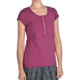 True Grit Slub Cotton T-Shirt - Short Sleeve (For Women)