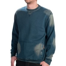 True Grit Slub French Terry Sweatshirt - Fleece Lining (For Men) in Industrial Blue - Closeouts