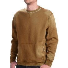 True Grit Slub French Terry Sweatshirt - Fleece Lining (For Men) in Old Gold - Closeouts