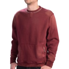 True Grit Slub French Terry Sweatshirt - Fleece Lining (For Men) in Wine Country - Closeouts