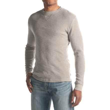 True Grit Slub Waffle Thermal Shirt - Long Sleeve (For Men) in Smoke - Closeouts