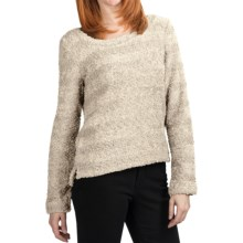 True Grit Soft Chenille Boucle Sweater (For Women) in Oatmeal - Closeouts