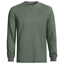 True Grit Soft Slub Jersey Shirt - Long Sleeve (For Men) in Alpine Green - Closeouts