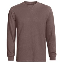 True Grit Soft Slub Jersey Shirt - Long Sleeve (For Men) in Driftwood - Closeouts