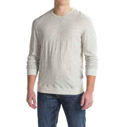 True Grit Soft Slub Sweatshirt (For Men) in Heather Grey - Closeouts