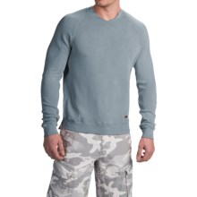 True Grit Soft Terry Sweatshirt - Crew Neck (For Men) in Blue - Closeouts
