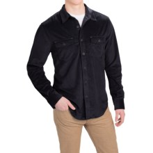 True Grit Softest Sueded Shirt - Long Sleeve (For Men) in Black - Closeouts