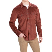 True Grit Softest Sueded Shirt - Long Sleeve (For Men) in Red - Closeouts