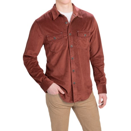 True Grit Softest Sueded Shirt Long Sleeve (For Men)