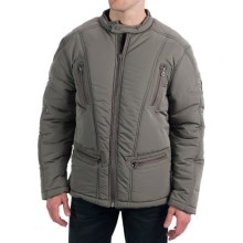 True Grit Solid Puffer Jacket - Insulated (For Men) in Olive - Closeouts