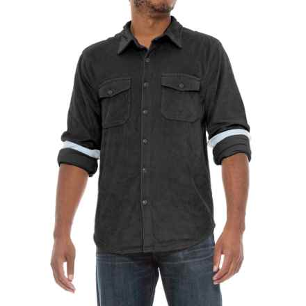True Grit Stretch Corduroy Shirt - Long Sleeve (For Men) in Black - Closeouts