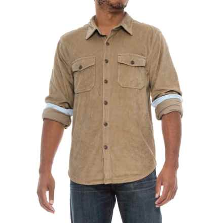 True Grit Stretch Corduroy Shirt - Long Sleeve (For Men) in Khaki - Closeouts
