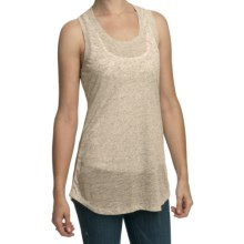 True Grit Sublime Slub Tank Top - Racerback (For Women) in Natural - Closeouts