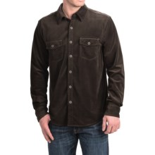 True Grit Sueded Check Shirt - Long Sleeve (For Men) in Brown - Closeouts