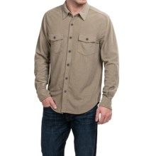 True Grit Sueded Solid Shirt - Long Sleeve (For Men) in Oatmeal - Closeouts
