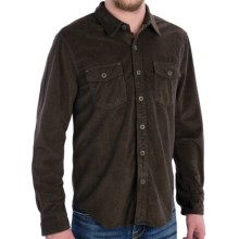 True Grit Sueded Tweed Check Shirt - Long Sleeve (For Men) in Grey - Closeouts