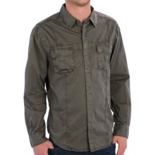 True Grit Summit Shirt Jacket - Button Front, Long Sleeve (For Men) in Jeep - Closeouts